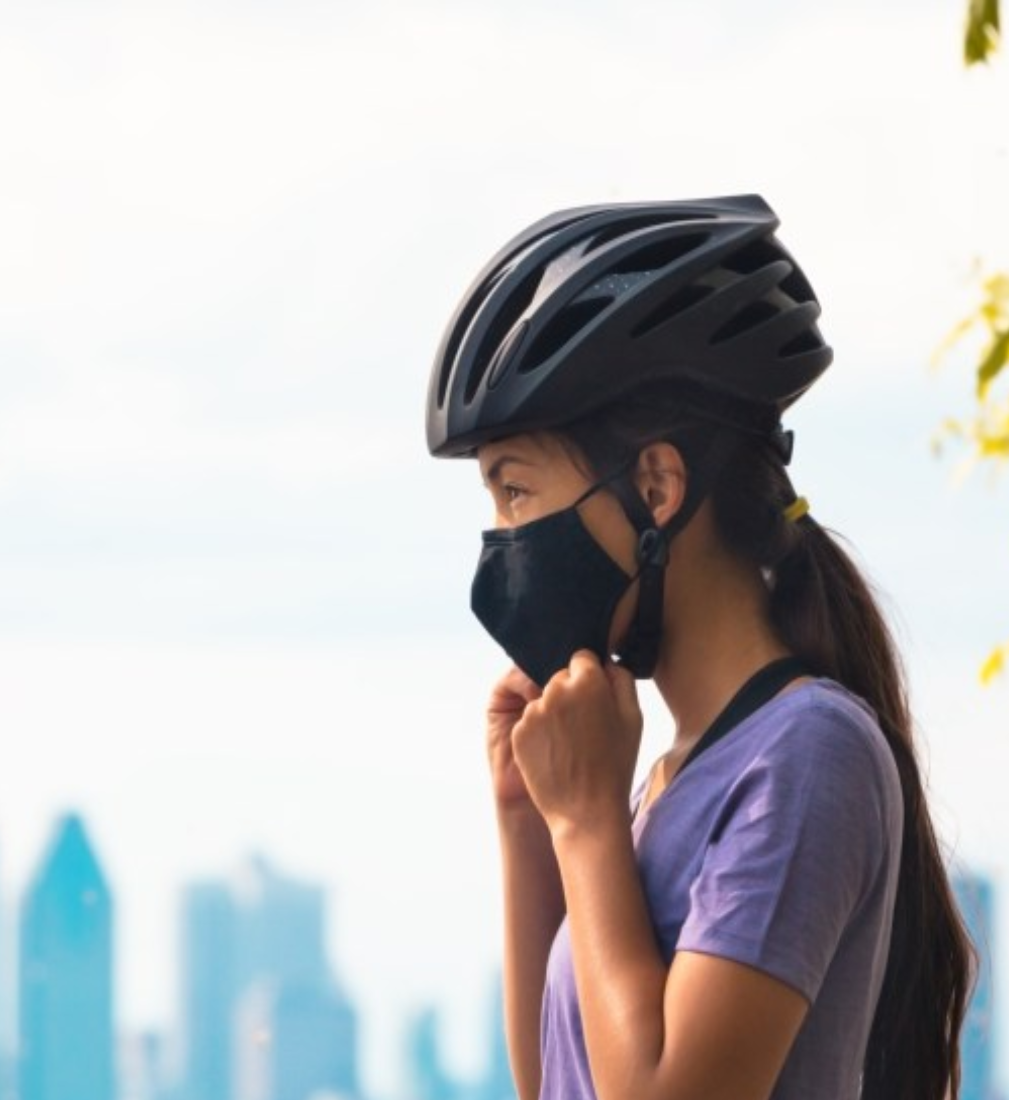 Máscara facial & Exercício Físico